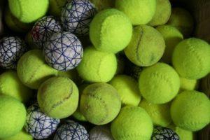 real tennis balls