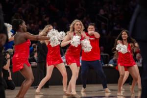 what do cheerleaders do