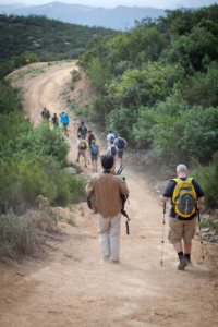 tips for hiking downhill