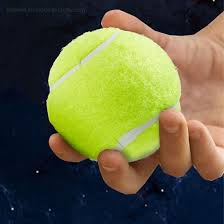 non pressurized tennis balls