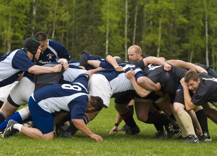 Getting Fit for Rugby: Legs and Shoulders