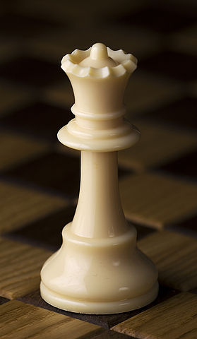 the queen chess piece for chess beginners