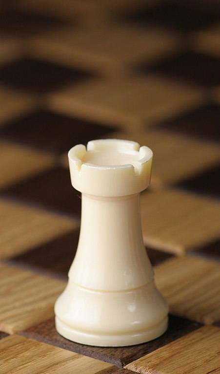 the rook chess piece for chess beginners