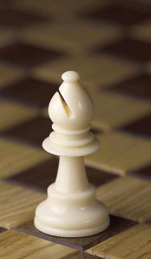 the bishop chess piece for chess beginners
