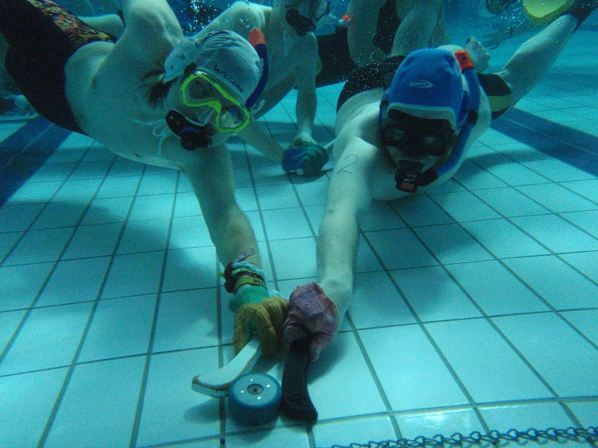 Explained: The Zestful Game of Underwater Hockey