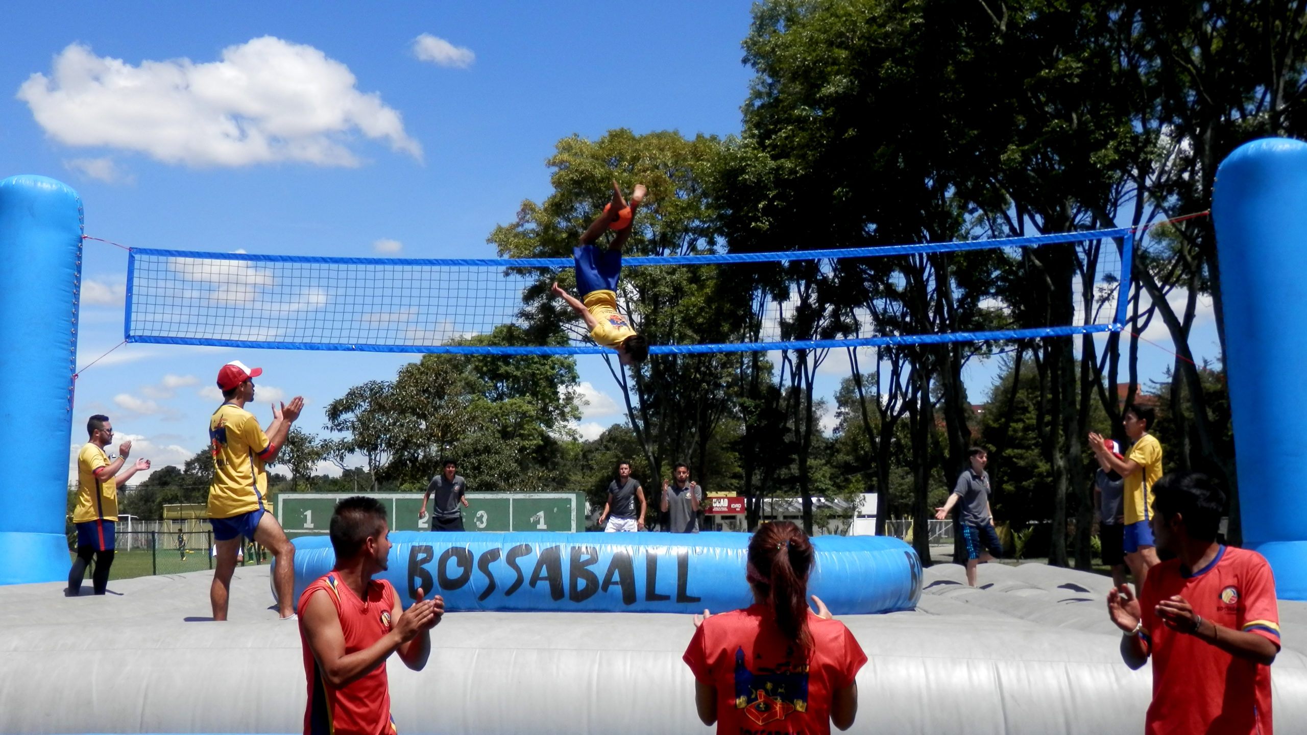 Bossaball: The Crazy Galvanizing Ball Game