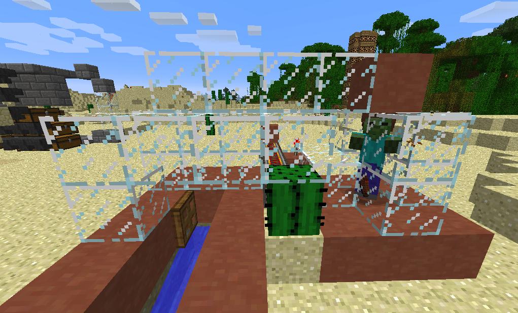 How To Make Minecraft Cactus Farm